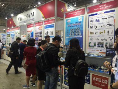 VASI Vietnam pavillion in MTech Tokyo 2018
