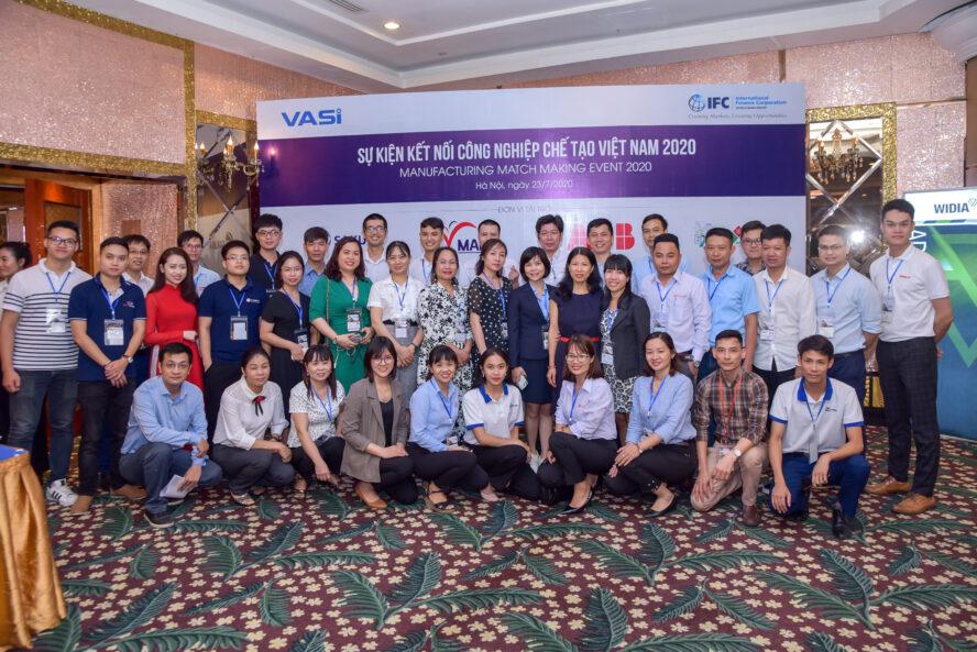 VASI Sự kiện kết nối công nghiệp chế tạo Việt Nam 2020